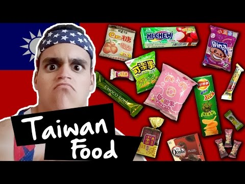 American Tries Taiwan Food!!!