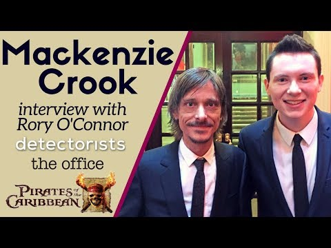 Mackenzie Crook  with Rory O'Connor TV