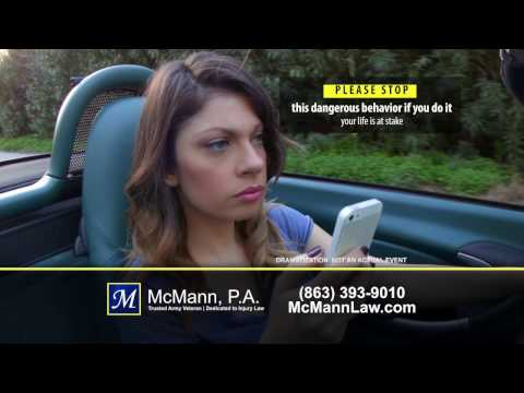 We Sue Distracted Drivers! Mark McMann, P.A. Lakeland Auto Accident Attorney
