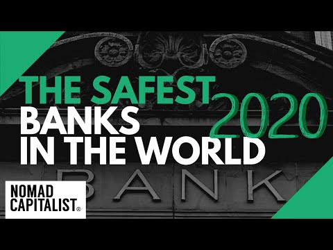 The Safest Banks in the World for 2020