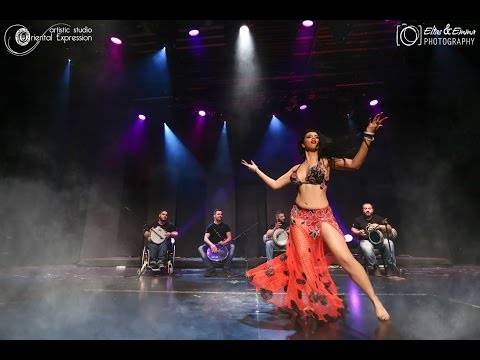 Chronis Taxidis & Tabbal Group Live - Dana Vahida | Oriental Expression Show