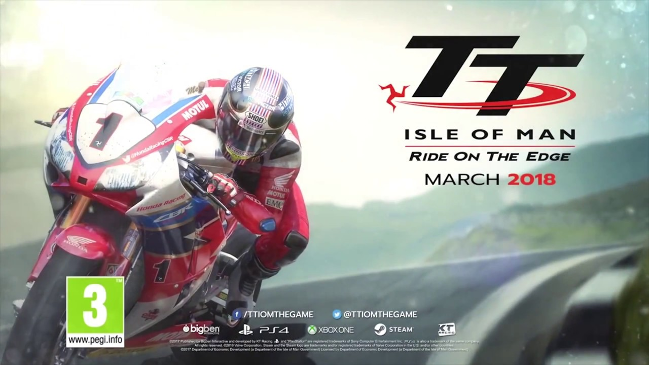 tt isle of man trailer game 2018 ps4 xbox one pc youtube. Black Bedroom Furniture Sets. Home Design Ideas