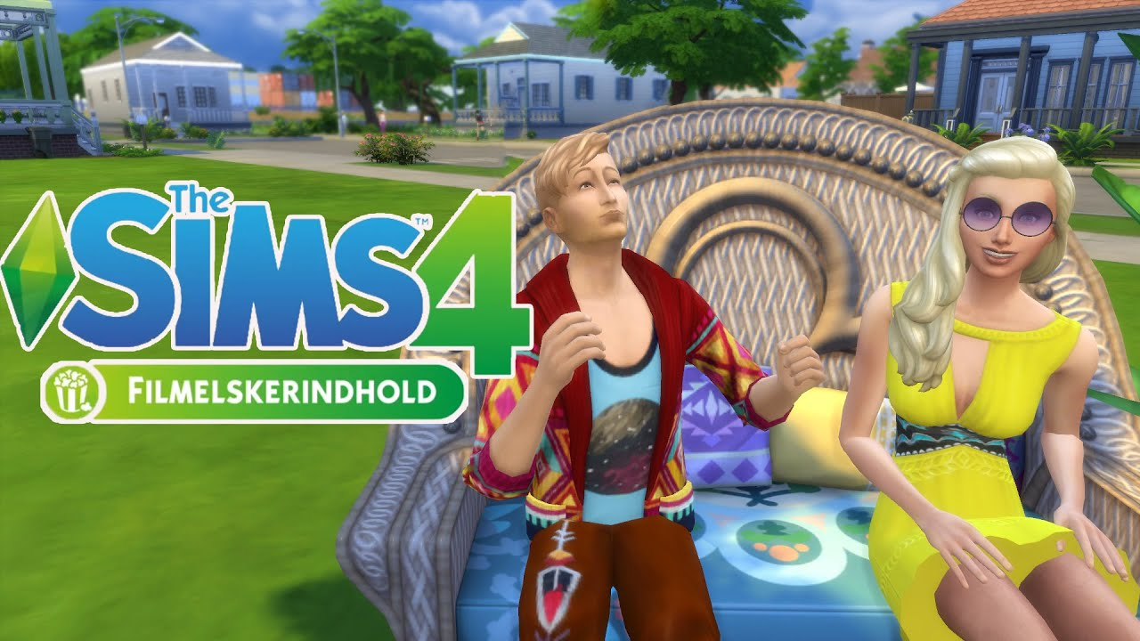 The sims 4 filmelskerindhold stuff pack indblik youtube for Schaukelstuhl sims 3