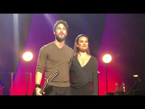 Lea Michele & Darren Criss  Finale