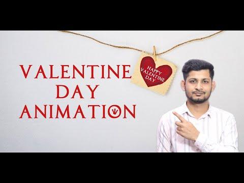 Valentine Day Animation | After Effects Tutorial Bangla | Simple Way | Joynal Abdin Sumon