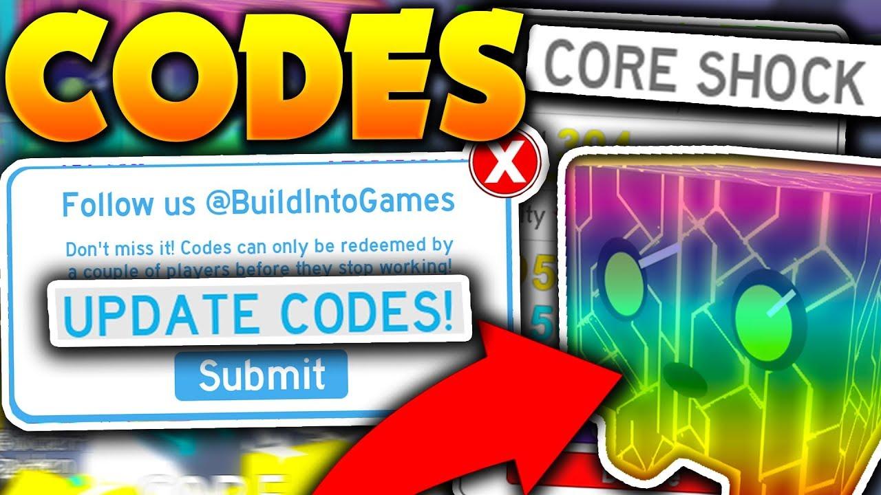 Unlocking Core Shock Pet New Codes In Roblox Pet Simulator