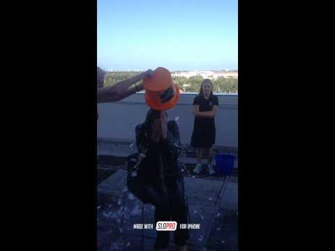 Morgan Stanley ALS Ice Bucket Challenge Kristen Sario