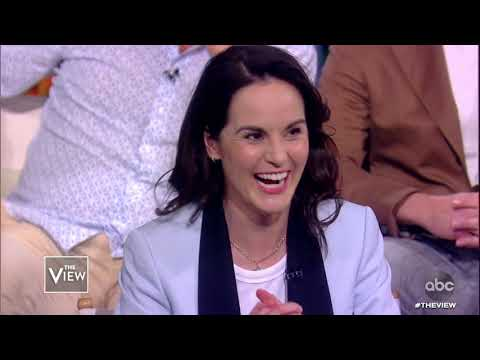 """""""Downton Abbey"""" Cast Talks Real Life Royal Family 