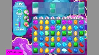 Candy Crush Soda Saga Level 615 NO BOOSTERS! Very hard level.