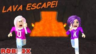 LAVA ESCAPE! 🏃♀️🔥 / Roblox: Escape Simulator