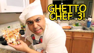 GHETTO CHEF 3: CEREAL PIZZA!