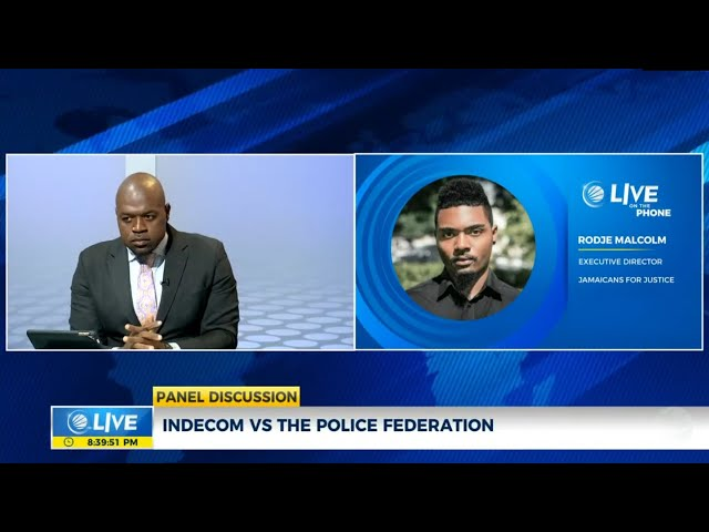 Jamaica: INDECOM VS Police Federation  | Panel Discussion  | CVMTV