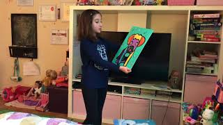 Ave Rox Stories - Ave is presenting her own paintings