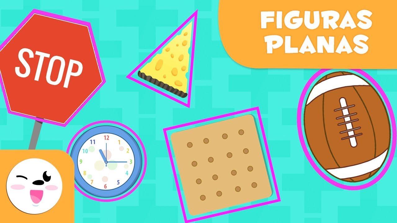 Las Figuras Geométricas Planas Para Niños Vocabulario Para