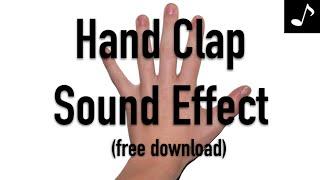 Hand Clap Sound Effect