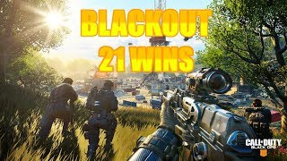 21 Wins! // PC Gameplay // Call of Duty // Black Ops 4 // Blackout
