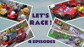 Play Doh Disney Cars 2 Thomas & Friends Lego Duplo Spider-Man Sesame Street Racers Story Episode