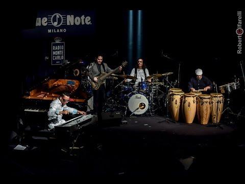 """Volcàn- Rubalcaba, El Negro Hernandez, Gola, Hidalgo """"Sin Punto"""" @ Blue Note Milano"""
