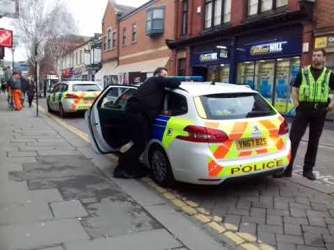 Uk police arresting girl