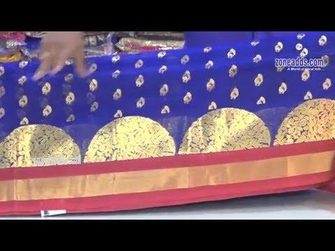 Latest Kanchi Organza Sarees | Sakhi Fashions | Episode 5 | A.S.Rao Nagar | zoneadds.com