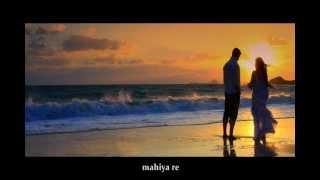 Abhi Abhi toh mile ho  INSTRUMENTAL with Lyrics,  Jism 2,  Steel Guitar by C. Garrett (with lyrics)
