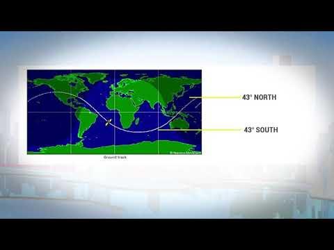 Chances Of Tiangong-1 Crashing Into Malaysia Very Low