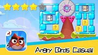 Angry Birds Casual Level 55-56 Walkthrough Sling birds to solve puzzles! Recommend index four stars