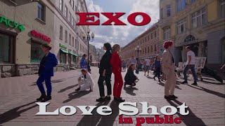 [K-POP IN PUBLIC RUSSIA] EXO - Love Shot dance cover by RE:BIRTH