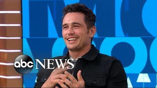James Franco says it was 'bizarre' staying in character to direct and act in 'Disaster Artist'