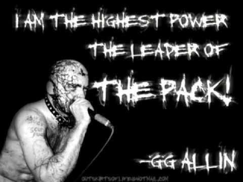 GG Allin - Highest Power