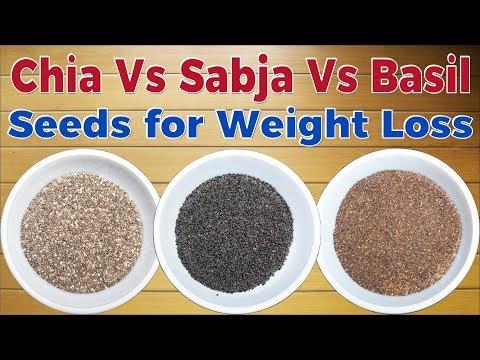 Chia, Basil & Sabja Seeds Are The Same? Chia Vs Basil Seeds For Weight Loss | Chia Seeds Benefits