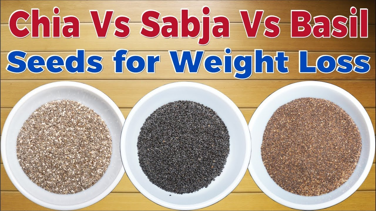 Chia, Basil & Sabja Seeds Are The Same? Chia Vs Basil Seeds