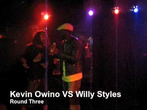 Willy Styles VS Kevin Owino Freestyle Battle @ VIB...