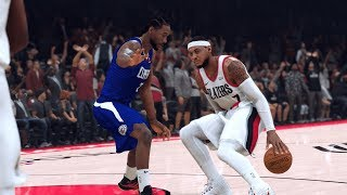 NBA 2K20 - Los Angeles Clippers vs. Portland Trail Blazers (MELO!) - Full Gameplay (Updated Rosters)