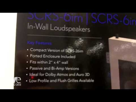 CEDIA 2015: Pro Audio Technology Introduces SCRS-6im In-Wall Loudspeakers