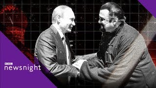 Steven Seagal on Vladimir Putin, Russia and the US - BBC Newsnight
