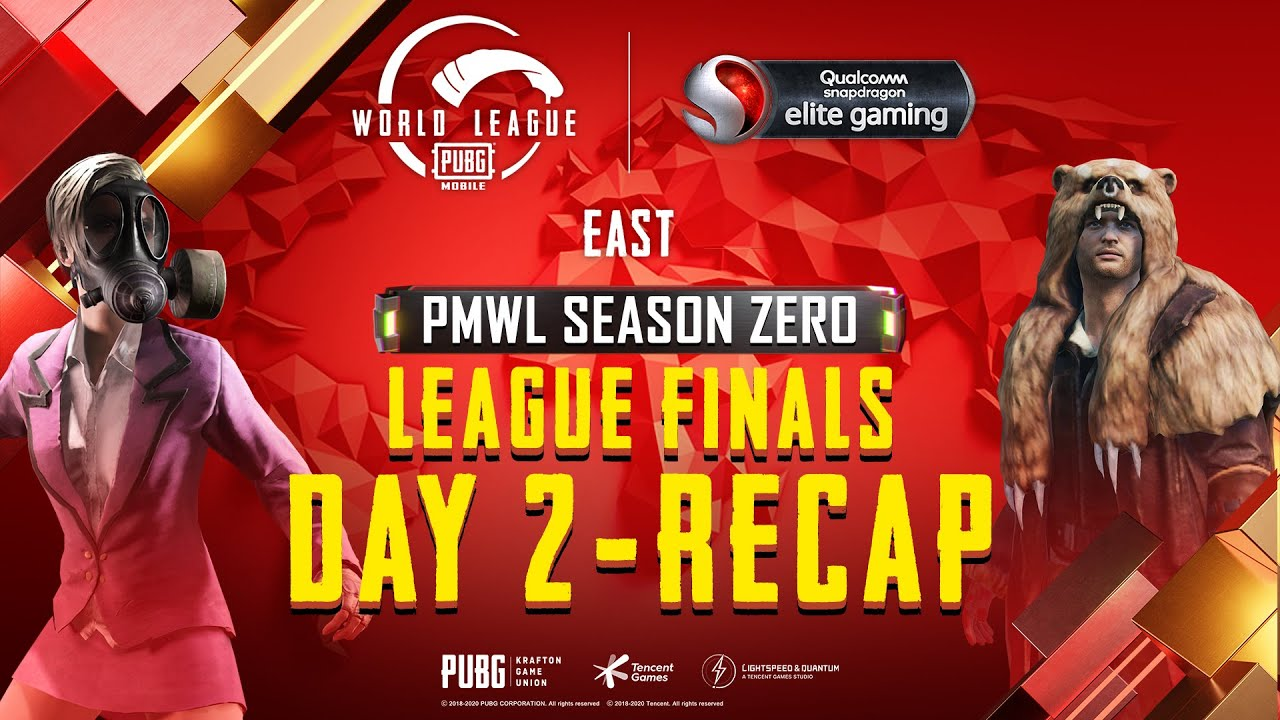 PUBG MOBILE World League East Season ZERO - WEEK 4 DAY 2 Grand Finals Recap