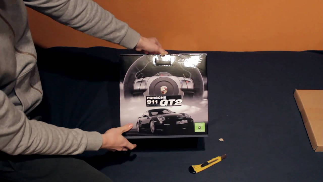 fanatec porsche 911 gt2 unboxing youtube. Black Bedroom Furniture Sets. Home Design Ideas