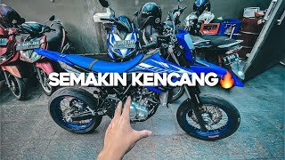 PROJECT WR155 (PART4) | BORE UP + GANTI KNALPOT!
