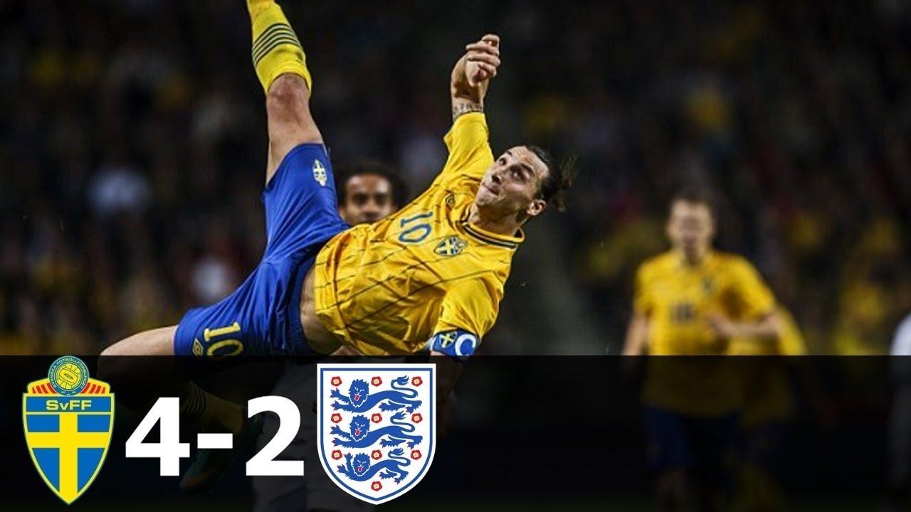sweden england zlatan