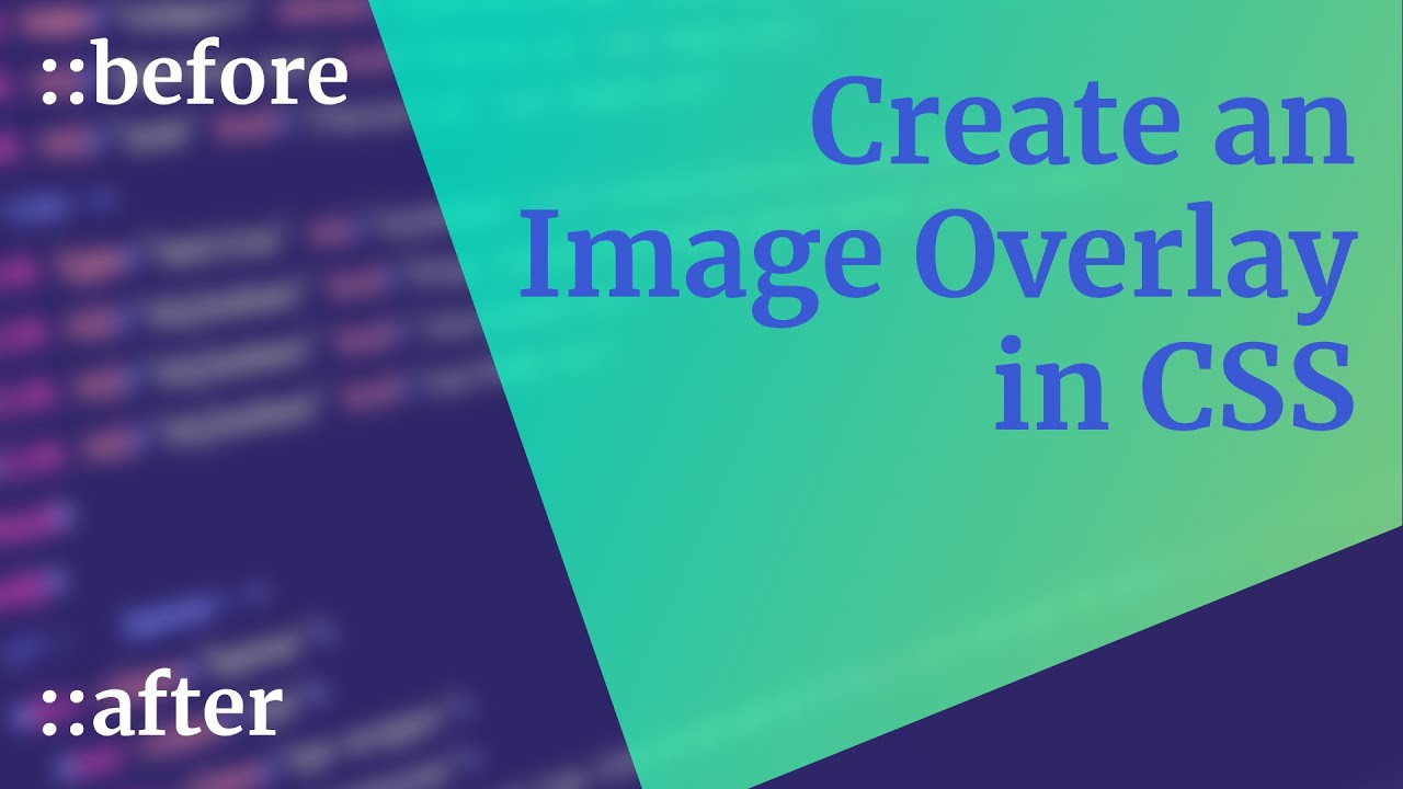 Use CSS ::before and ::after for simple, spicy image overlays