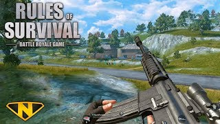 My First FPP Win! (Rules of Survival: Battle Royale #108)