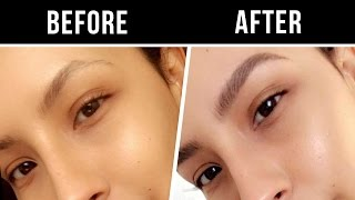 HOW TO ... NATURAL BUSHY EYEBROWS | DESI PERKINS