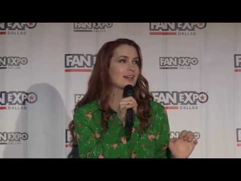 Felicia Day  Full Q&A Panel  Expo Dallas 2018