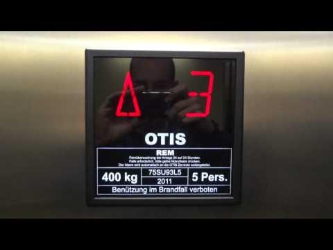 Nice modern Otis elevator