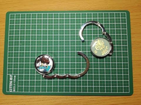 【DIY】掛物継美ちゃんのバッグフック作ってみた!NFC対応