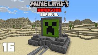 Minecraft: Insane Creeper Farm! - 1.16 Hardcore Survival Let's Play | 16