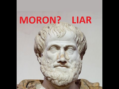 Aristotle Was a LIAR!