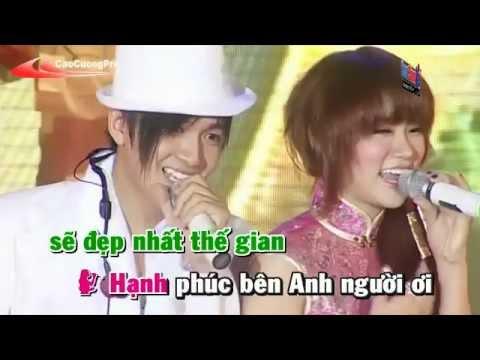 Dinh Menh Ta Gap Nhau Karaoke - Ngo kien Huy ft Thu Thuy