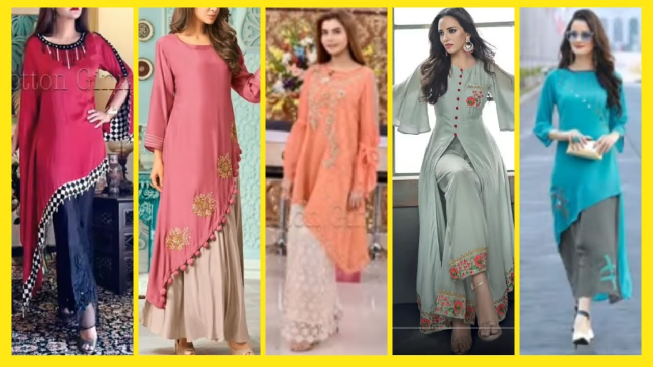 8+ Simple Dress Patterns For Ladies - Latest Dress Patterns For Ladies -  Dresses Designs For Ladies